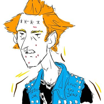 Vyvyan Sticker by uhmfox