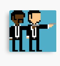 8Bit Pulp Fiction Canvas Print