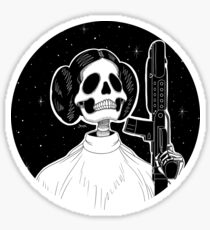 Leia (Stack's Skull Sunday) Sticker