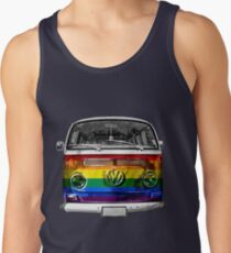 VW van Rainbow T-Shirt