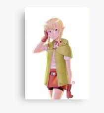 The Legend of Zelda - Linkle Tribute Canvas Print