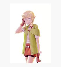 The Legend of Zelda - Linkle Tribute Photographic Print