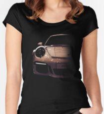 Porsche 911, porsche GT3 Women's Fitted Scoop T-Shirt