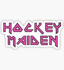 Hockey Maiden Sticker