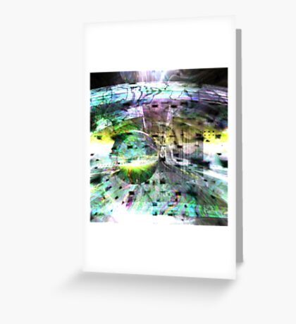 Bursting Colours Greeting Card