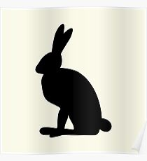 image Bunny,vector illustration Poster
