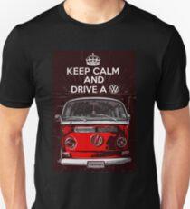 Keep calm and drive a VW T-Shirt