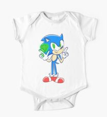 Sonic 25th: Sonic the Hedgehog  One Piece - Short Sleeve