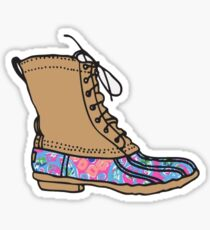 Lilly Bean Boot Sticker