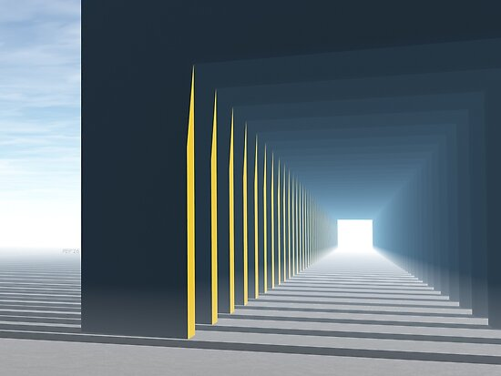 Linear Perspective of Light by Phil Perkins