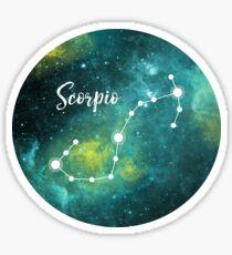 Scorpio Zodiac Sign, October 23 - November 21 Sticker