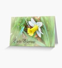 A Daffodil for Easter  Greeting Card