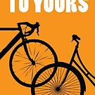 I'd Lock My Bike to Yours by Annie Riker