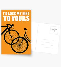 I'd Lock My Bike to Yours Postcards