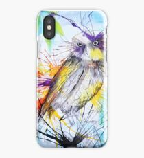 Owl in the Woods iPhone Case