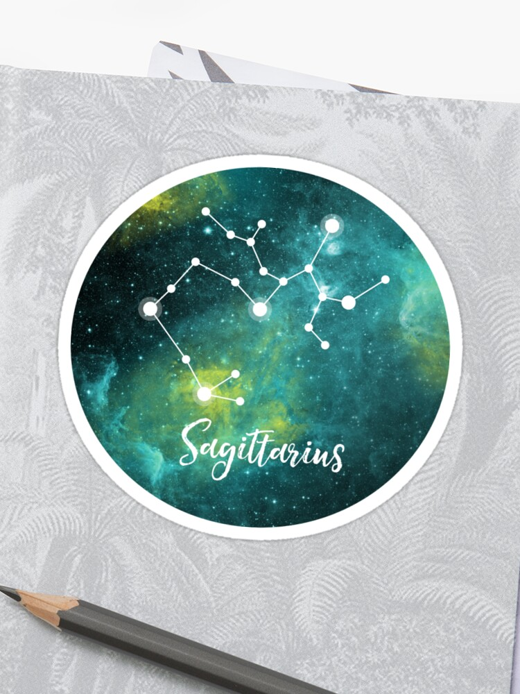 Sagittarius Zodiac Sign, November 22 - December 21 | Sticker