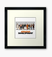 arrested development lineup Framed Print