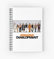 arrested development lineup Spiral Notebook