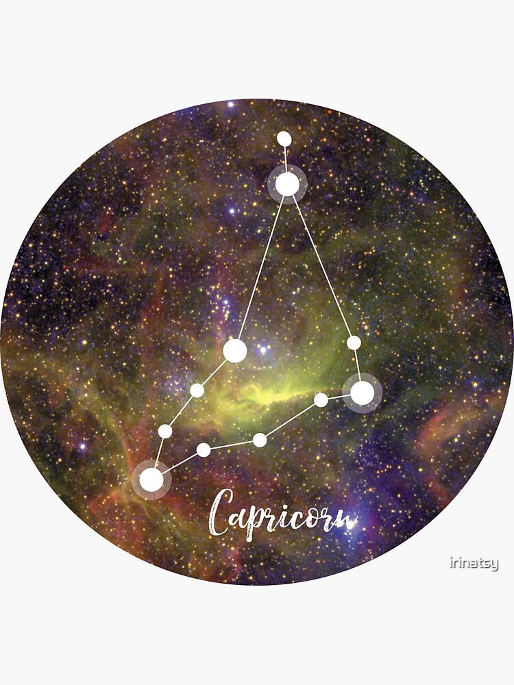 Steinbock Sternzeichen, 22. Dezember - 19. Januar von irinatsy