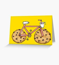 Cookie Cruiser Greeting Card