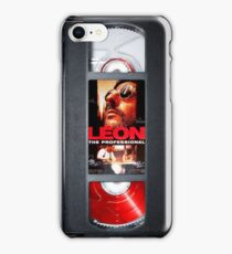 Leon the professional VHS case iPhone Case/Skin