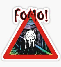 FOMO - Fear of Missing Out! Sticker