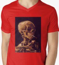 Vincent Van Gogh's 'Skull with a Burning Cigarette'  T-Shirt