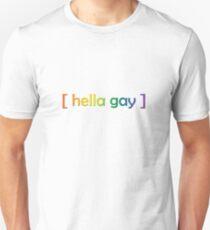 Hella schwul Slim Fit T-Shirt