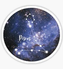 Pisces Zodiac Sign, February 19 - March 20 Sticker