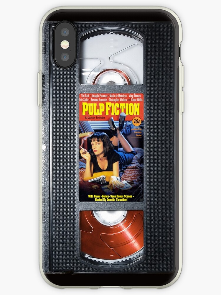 Pulp Fiction VHS Tape Retro iPhone Cover
