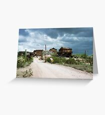 Goldfield. Greeting Card