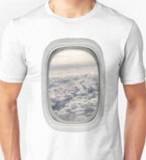 Airplane Window Unisex T-Shirt