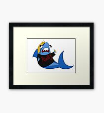 Kerry sharkcross Framed Print