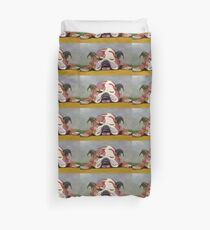 Sleeping Bulldog Duvet Cover