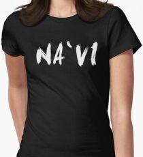 Na`vi (Navi, Natus Vincere) White Womens Fitted T-Shirt