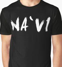 Na`vi (Navi, Natus Vincere) White Graphic T-Shirt