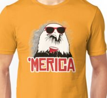 'Merican Eagle Unisex T-Shirt