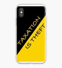 Besteuerung ist Diebstahl iPhone-Hülle & Cover