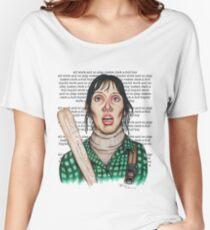 Camiseta ancha para mujer El brillo