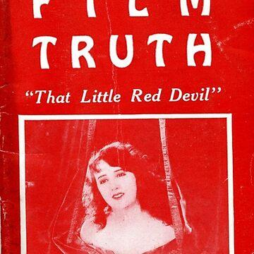 Film Truth Sticker by dinoglitter