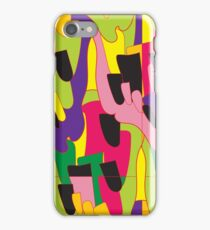 Abstract bright colorful vector pattern iPhone Case/Skin