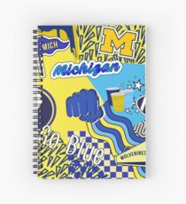 Michigan  Spiral Notebook