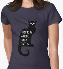 Cat - Home is where your cat is  T-Shirt