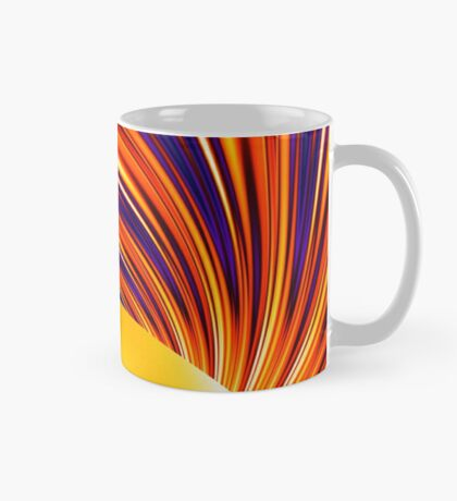 Color and Form Abstract - Solar Gravity and Magnetism 4 Mug