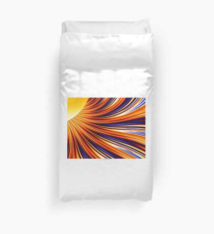 Color & Form Abstract - Solar Gravity & Magnetism 3 Duvet Cover
