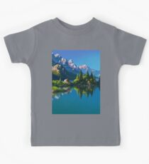 North America Landscape Kids Tee