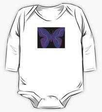 """Butterfly"" One Piece - Long Sleeve"