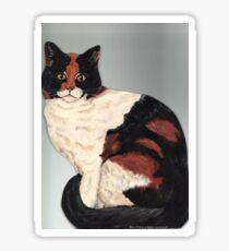 Patchwork Cat Sticker