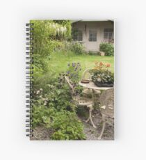 Disheveled little garden! Spiral Notebook