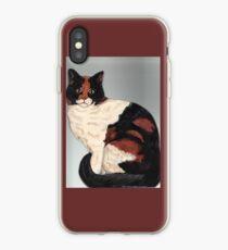 Patchwork Cat iPhone Case